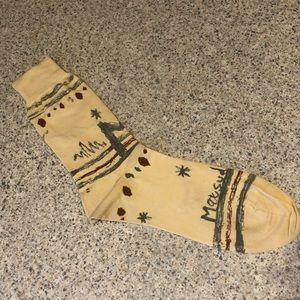 Matsuda Vintage Designer Socks -Rare